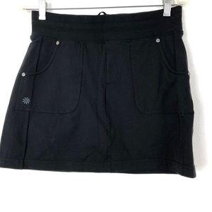 Athleta Zipper Pockets Mini Skort